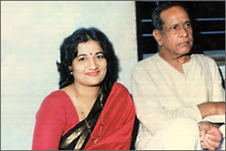 Encouragement from Pt.Bhimsen Joshi